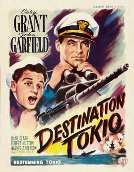 Destination Tokyo - 11 x 17 Movie Poster - Belgian Style A