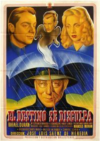 Destino se Disculpa, El - 11 x 17 Movie Poster - Spanish Style A