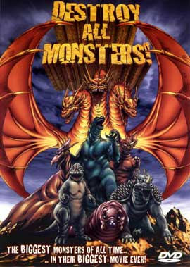 Destroy All Monsters - 11 x 17 Movie Poster - Style C