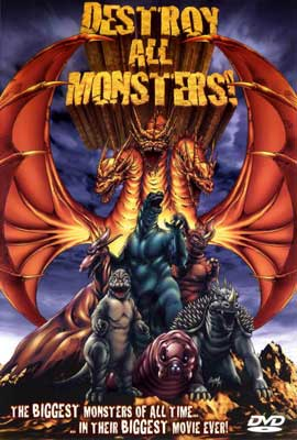 Destroy All Monsters - 27 x 40 Movie Poster - Style C