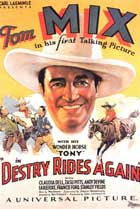 Destry Rides Again - 11 x 17 Movie Poster - Style C