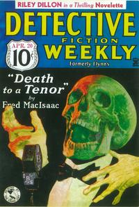 Detective Fiction Weekly (Pulp) - 11 x 17 Pulp Poster - Style A