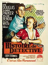 Detective Story - 11 x 17 Movie Poster - French Style B
