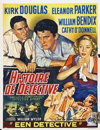 Detective Story - 11 x 17 Movie Poster - German Style E