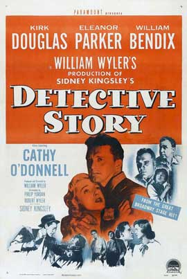 Detective Story - 11 x 17 Movie Poster - Style G