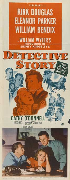 Detective Story - 14 x 36 Movie Poster - Insert Style A