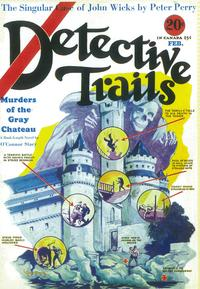 Detective Trails (Pulp) - 11 x 17 Pulp Poster - Style A