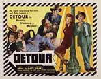 Detour - 22 x 28 Movie Poster - Half Sheet Style A