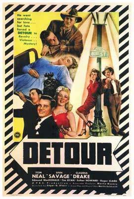 Detour - 27 x 40 Movie Poster - Style A