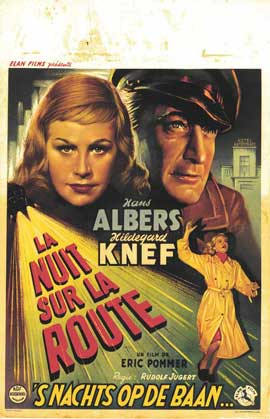 Detour - 11 x 17 Movie Poster - Belgian Style A