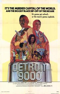Detroit 9000 - 43 x 62 Movie Poster - Bus Shelter Style A