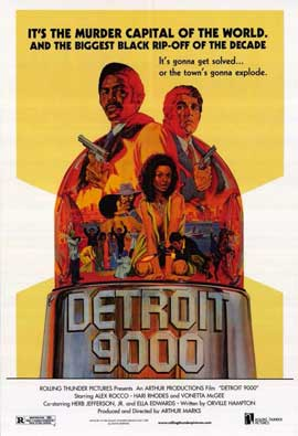 Detroit 9000 - 11 x 17 Movie Poster - Style A