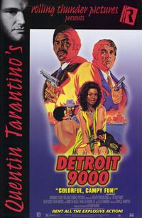 Detroit 9000 - 11 x 17 Movie Poster - Style B