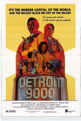 Detroit 9000 - 27 x 40 Movie Poster - Style A