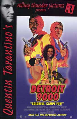 Detroit 9000 - 27 x 40 Movie Poster - Style C