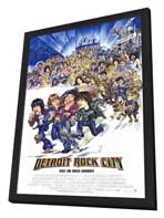 Detroit Rock City - 11 x 17 Movie Poster - Style A - in Deluxe Wood Frame