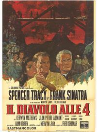 The Devil at 4 O'Clock - 27 x 40 Movie Poster - Italian Style A