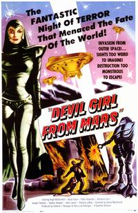 Devil Girl from Mars - 11 x 17 Movie Poster - Style A