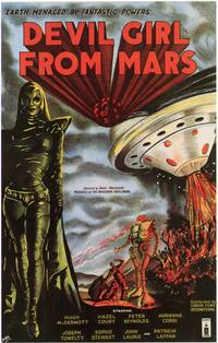 Devil Girl from Mars - 11 x 17 Movie Poster - Style B