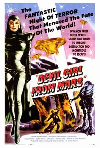 Devil Girl from Mars - 27 x 40 Movie Poster - Style A
