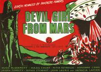 Devil Girl from Mars - 11 x 14 Movie Poster - Style B