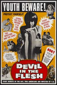 Devil In the Flesh - 43 x 62 Movie Poster - Bus Shelter Style A