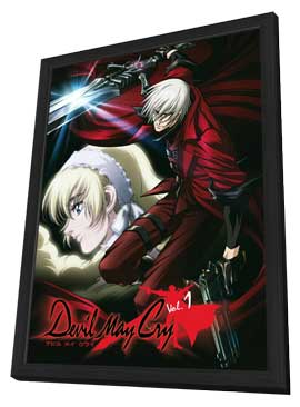 Devil May Cry - 11 x 17 Movie Poster - German Style D - in Deluxe Wood Frame