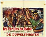 Devil-Ship Pirates - 11 x 17 Movie Poster - Belgian Style A