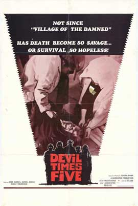 Devil Times Five - 27 x 40 Movie Poster - Style A