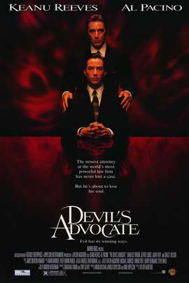 The Devil's Advocate - 11 x 17 Movie Poster - Style A