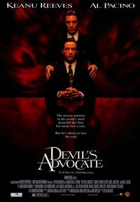 The Devil's Advocate - 43 x 62 Movie Poster - Bus Shelter Style A