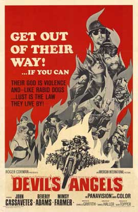 Devil's Angels - 11 x 17 Movie Poster - Style A