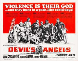Devil's Angels - 22 x 28 Movie Poster - Half Sheet Style A