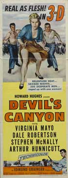 Devil's Canyon - 14 x 36 Movie Poster - Insert Style A