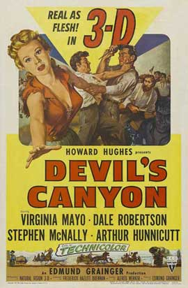 Devil's Canyon - 11 x 17 Movie Poster - Style A