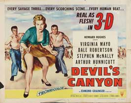 Devil's Canyon - 22 x 28 Movie Poster - Half Sheet Style A