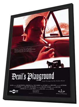 Devil's Playground - 11 x 17 Movie Poster - Style A - in Deluxe Wood Frame