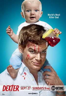 Dexter - 11 x 17 TV Poster - Style Q