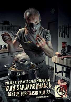 Dexter - 11 x 17 TV Poster - Finnish Style B
