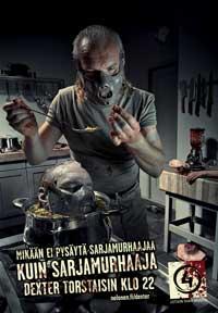 Dexter - 27 x 40 TV Poster - Finnish Style B