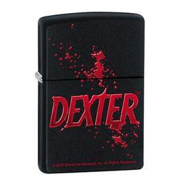 Dexter - Logo Black Matte Zippo Lighter
