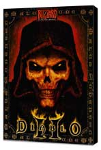 Diablo 2 - 11 x 17 Video Game Poster - Style A - Museum Wrapped Canvas