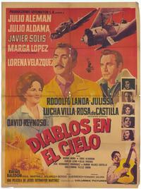 Diablos en el Cielo - 27 x 40 Movie Poster - Foreign - Style A