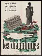 Diabolique - 11 x 17 Movie Poster - French Style B