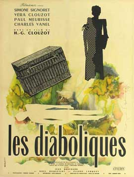 Diabolique - 11 x 17 Movie Poster - French Style A