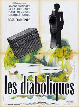 Diabolique - 27 x 40 Movie Poster - French Style B