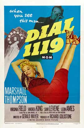 Dial 1119 - 11 x 17 Movie Poster - Style A