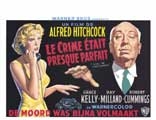 Dial M For Murder - 11 x 17 Movie Poster - French Style A