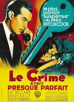 Dial M For Murder - 27 x 40 Movie Poster - French Style B