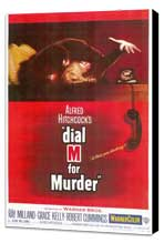 Dial M For Murder - 11 x 17 Movie Poster - Style A - Museum Wrapped Canvas